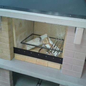 Мангал печь барбекю
